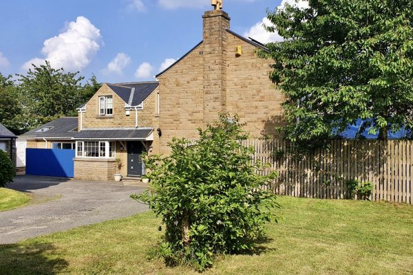Accessed via private gated driveway